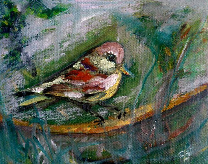 Bird (reworked) - CS art