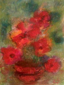 Red November Flowers