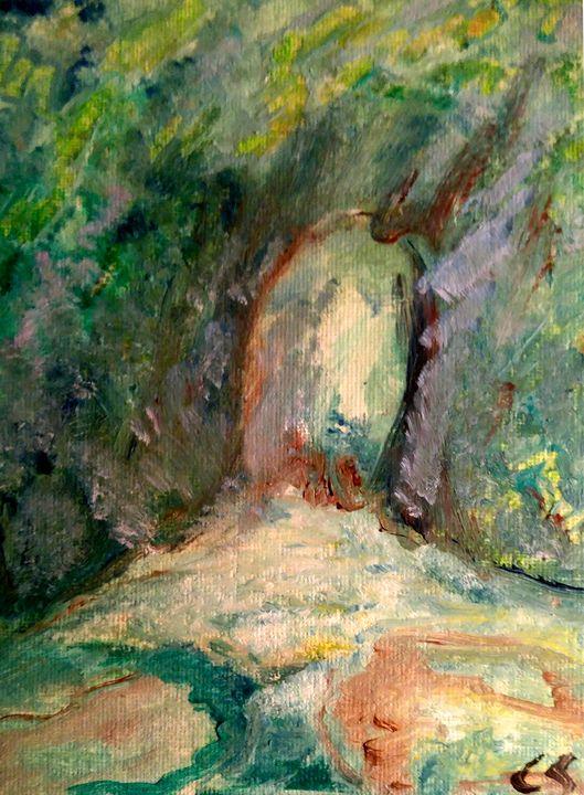 Green Grotto - CS art