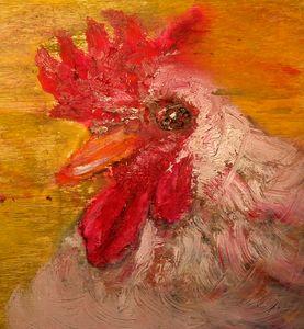 Portrait de coq