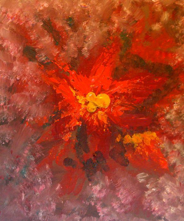 Fleur en janvier - CS art