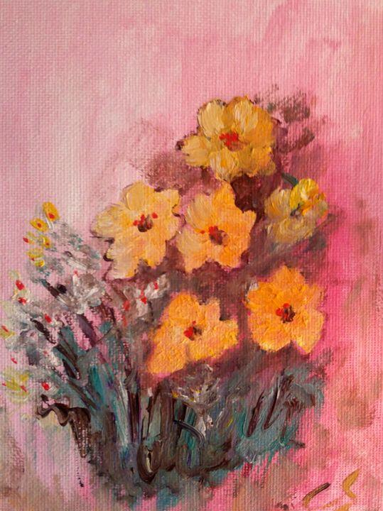 Same Flowers - CS art