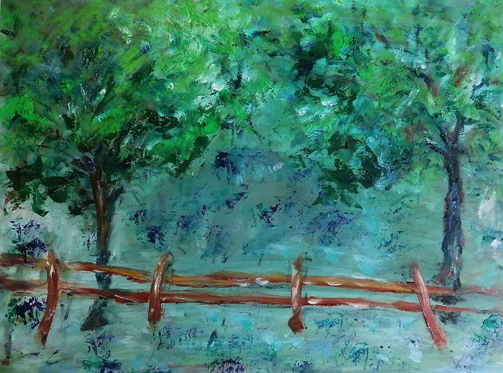 Fence - CS art