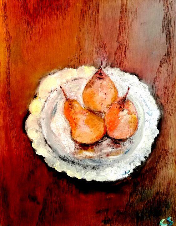 Bosc Pears - CS art