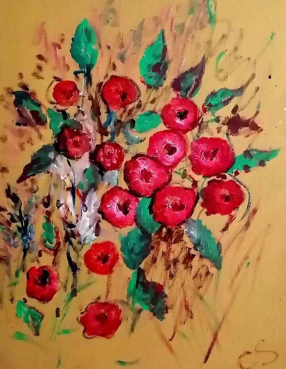 Mid September Flowers - CS art