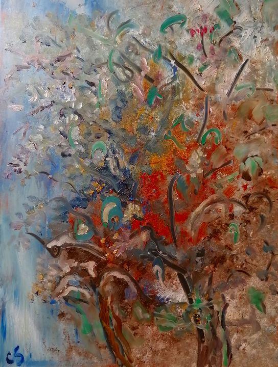 Tuesday Tree - CS art