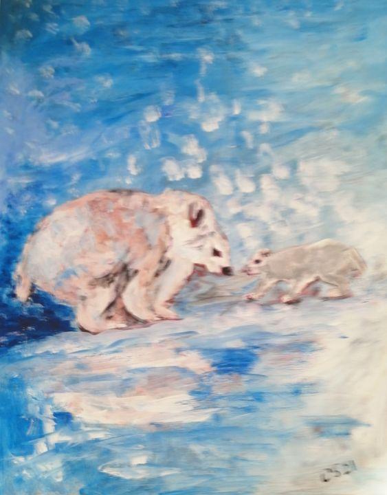 Mom and cub - CS art