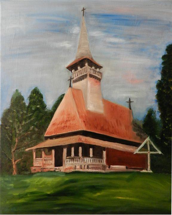 Eglise en bois - CS art