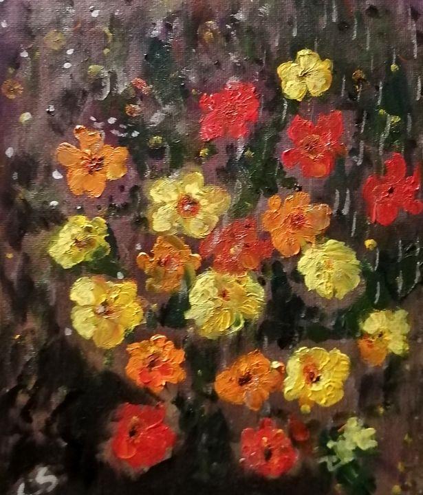 Pollen des fleurs - CS art