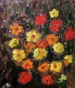 Pollen des fleurs