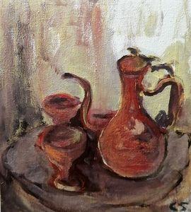 Wine Goblets Set