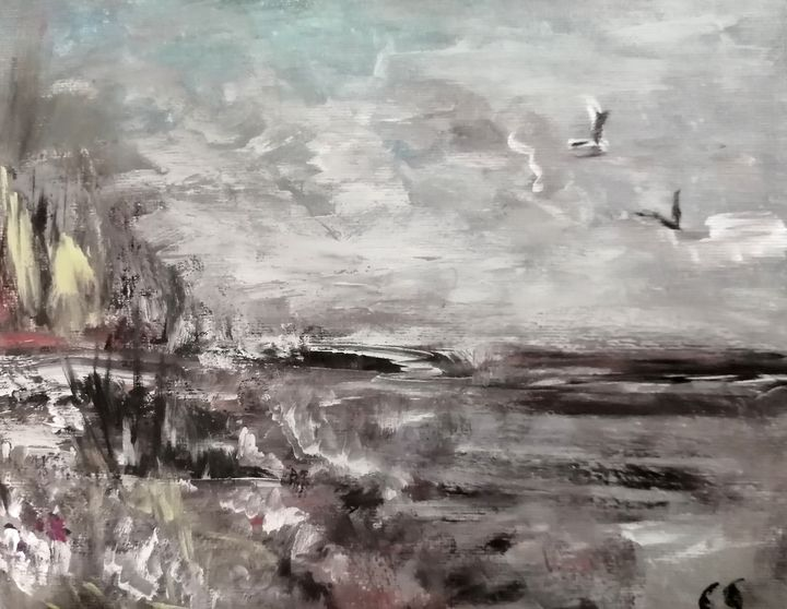 Flight in the March - CS art