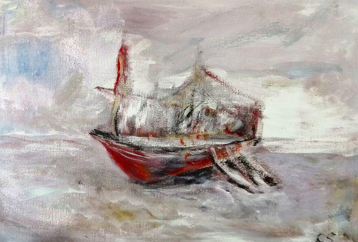 Masted Barque - CS art