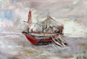 Masted Barque
