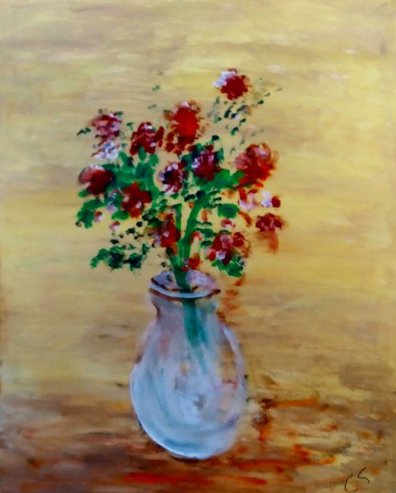 Vase October - CS art