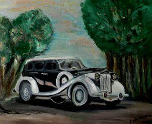 Packard Super Eight 1938 - CS art