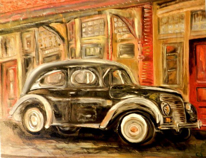 Ford Tudor, 1938 - CS art