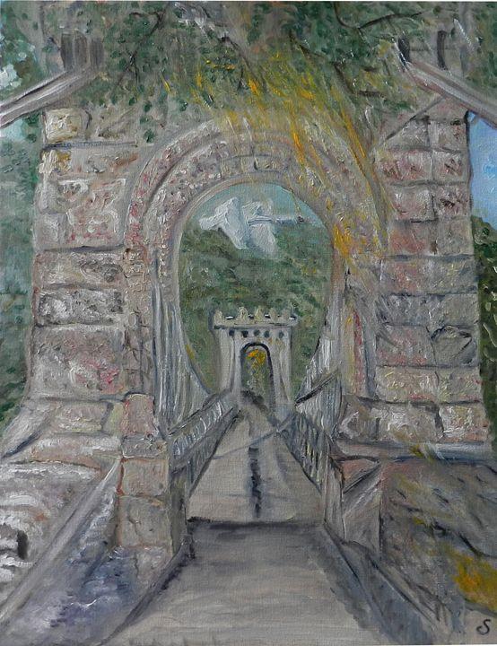 Pont suspendu, Craiova, 2013 - CS art