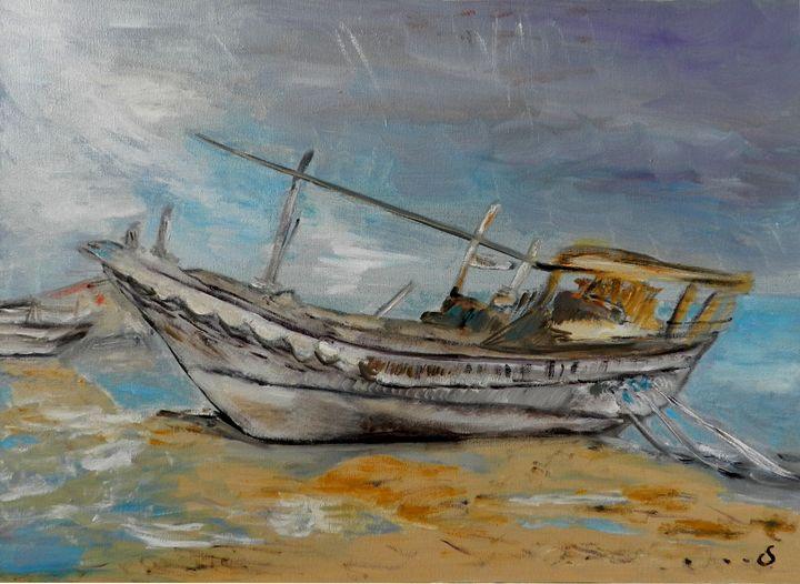 Fishing Boat - CS art