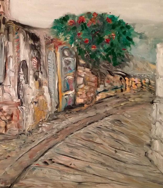 Village Lane - CS art
