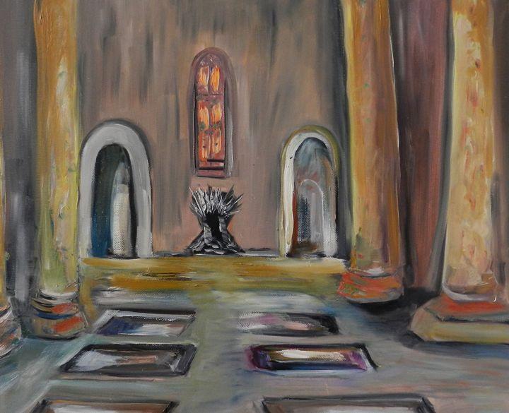 Iron Throne Room - CS art