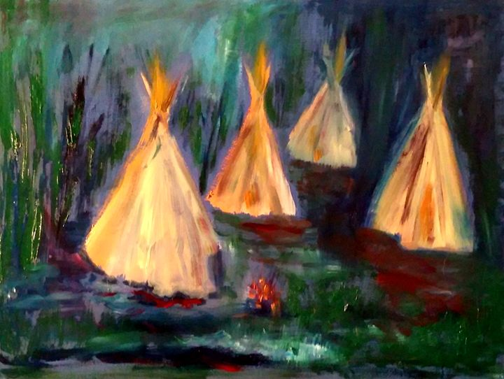 Camp Tipi - CS art