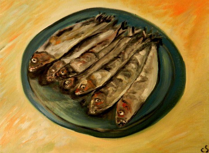 Grilled Sardines - CS art