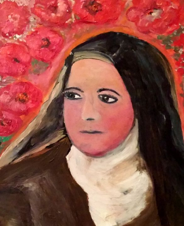 Hommage to Ste Therese de Lisieux - CS art