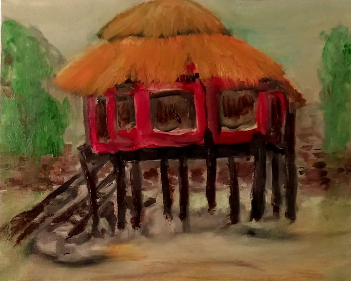 House in Malawi - CS art