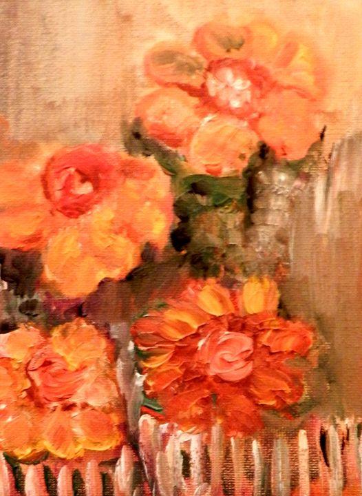 Fleurs du voisin - CS art