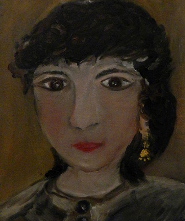 Autoportrait gris - CS art