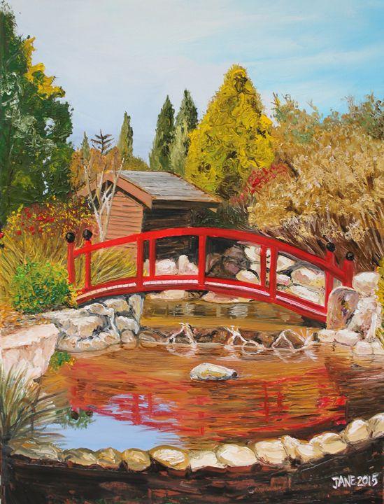 Red Bridge - Jane Crawford