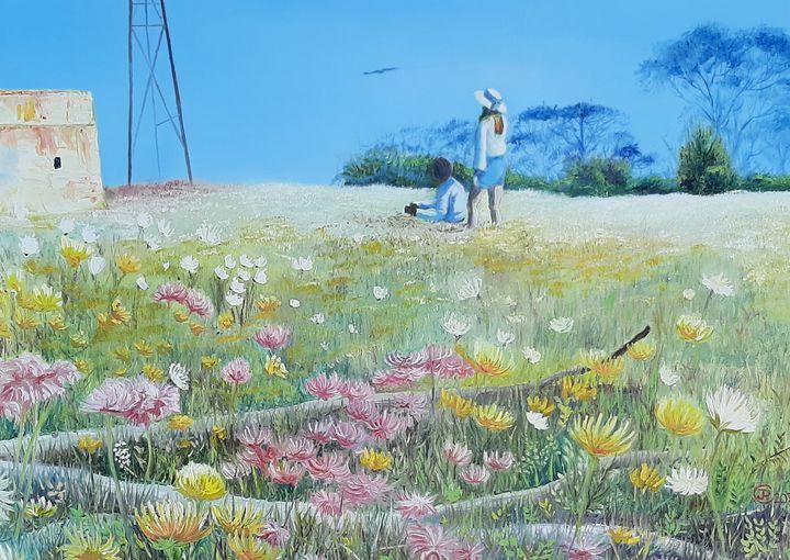 Eagle spotting - Jane Crawford