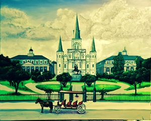 Jackson Square New Orleans - Chester Piazza