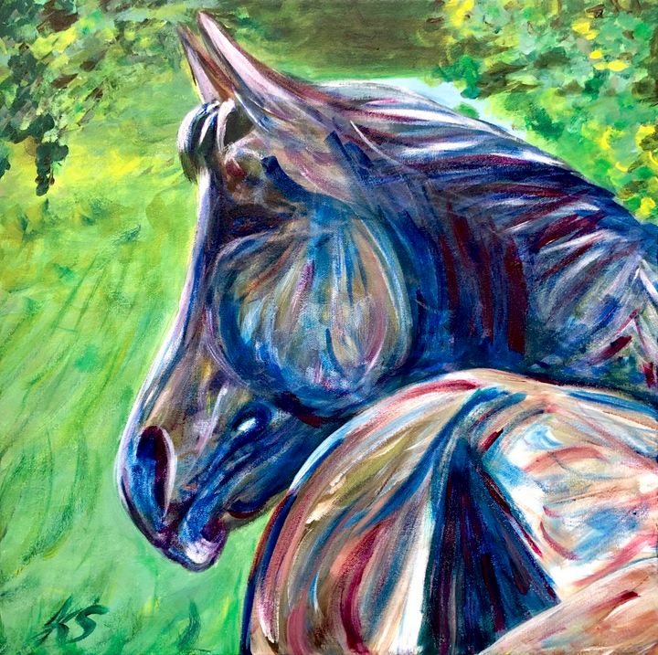 Trail Horse - True Vine Art Design