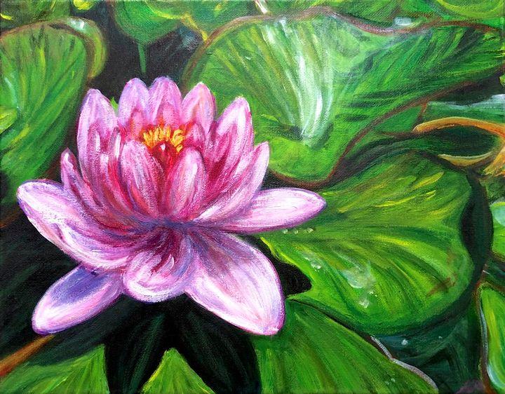 Pond Lily - True Vine Art Design