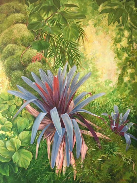 Tropical Forest Bromeliads - Charles Summers