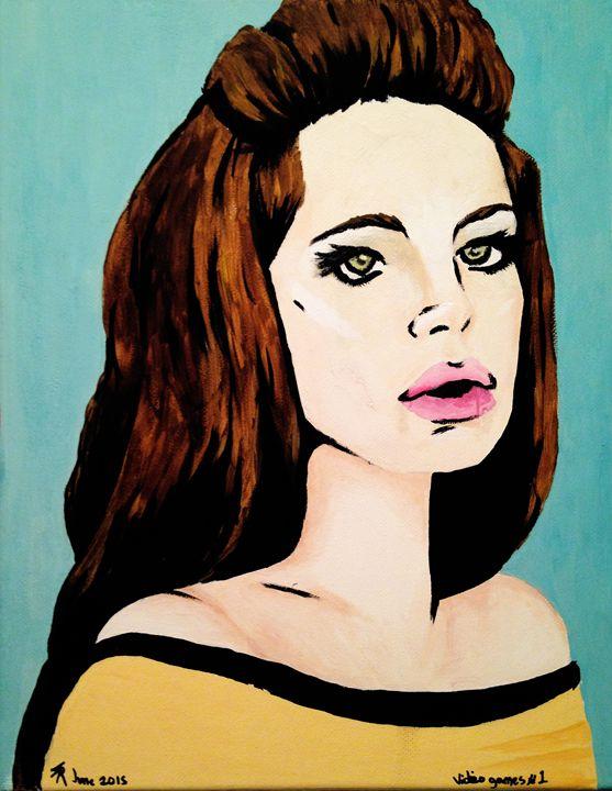 Lana Del Rey - Video Games - Spencer's art
