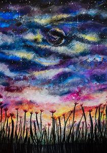 Cosmic Poppies