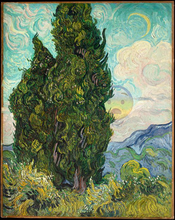 behind the tree - Camillo
