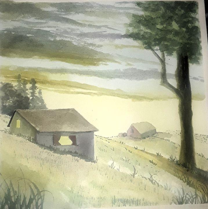 Hill Top - Larry McNeil Art