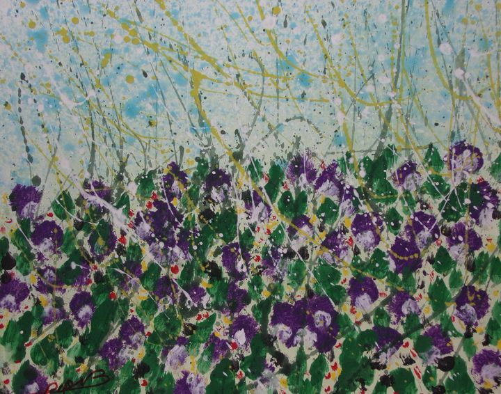 In te field of Iris's - N.B.Pop