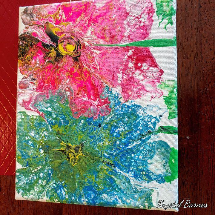 Immortal flowers - Krystals Kreations