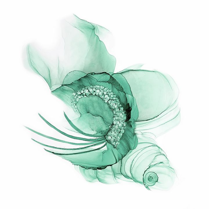 Seafoam Green Fascinator - Ray Ray Creative Art