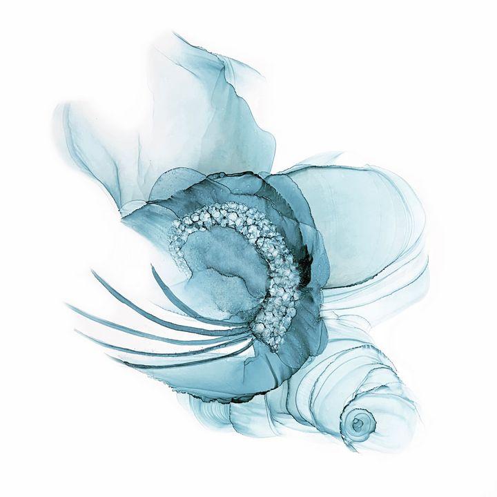 Blue Fascinator - Ray Ray Creative Art