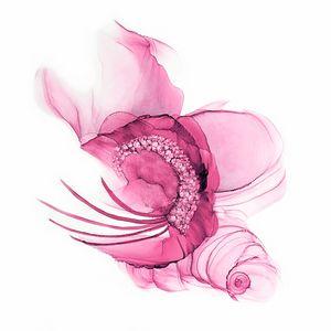 Dusty Rose Fascinator