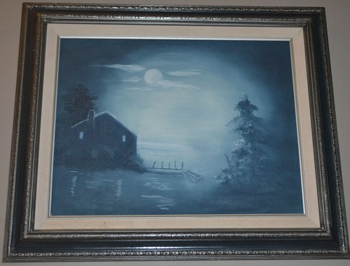Moonlight Cottage - Jaekel Artwork & Photography