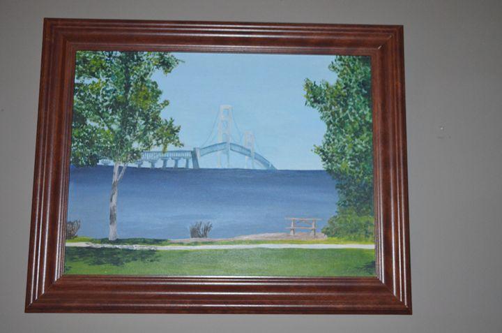 Mackinac Bridge - Jaekel Artwork & Photography