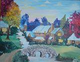 16x20 Vibrant Village