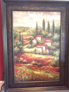 Tuscan-Style Oil Painting